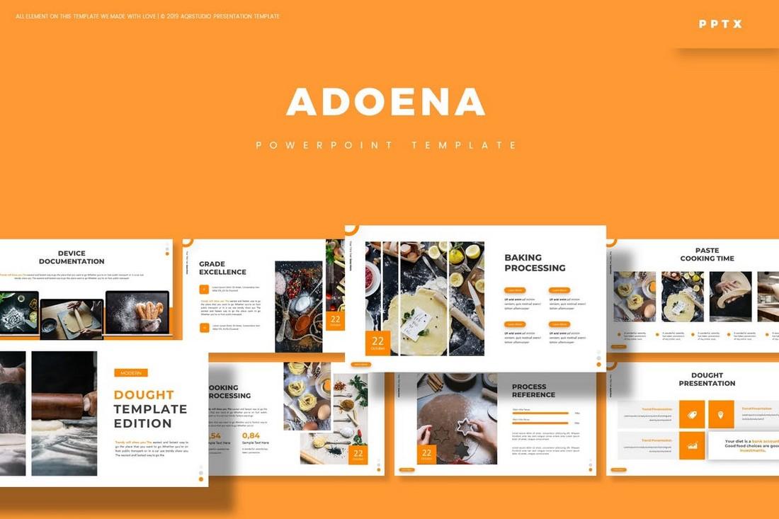Adoena - Minimal Powerpoint Template