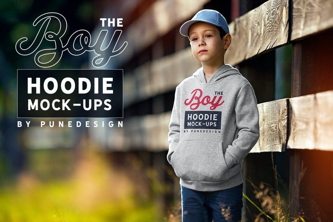 Adorable-Boy-Hoodie-Mockups 20+ Hoodie Mockup Templates (Free & Premium) design tips  Inspiration