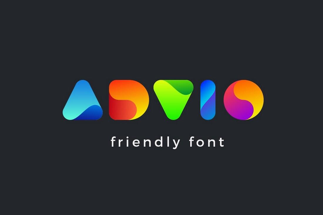 Advio - Decorative Logo Font