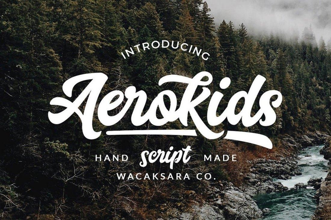 Aerokids-Poster-Font 60+ Best Big, Poster Fonts of 2019 design tips