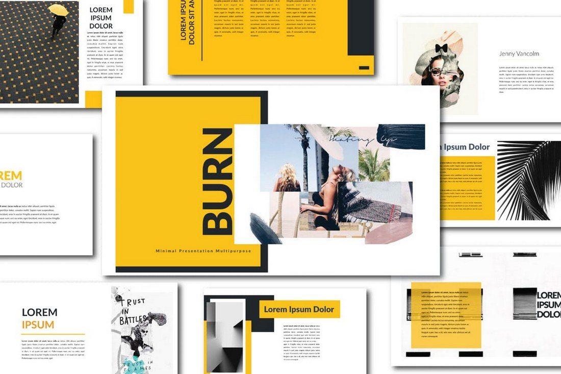 Agancy-Multipurpose-Keynote 30+ Best Minimal & Creative Keynote Templates design tips