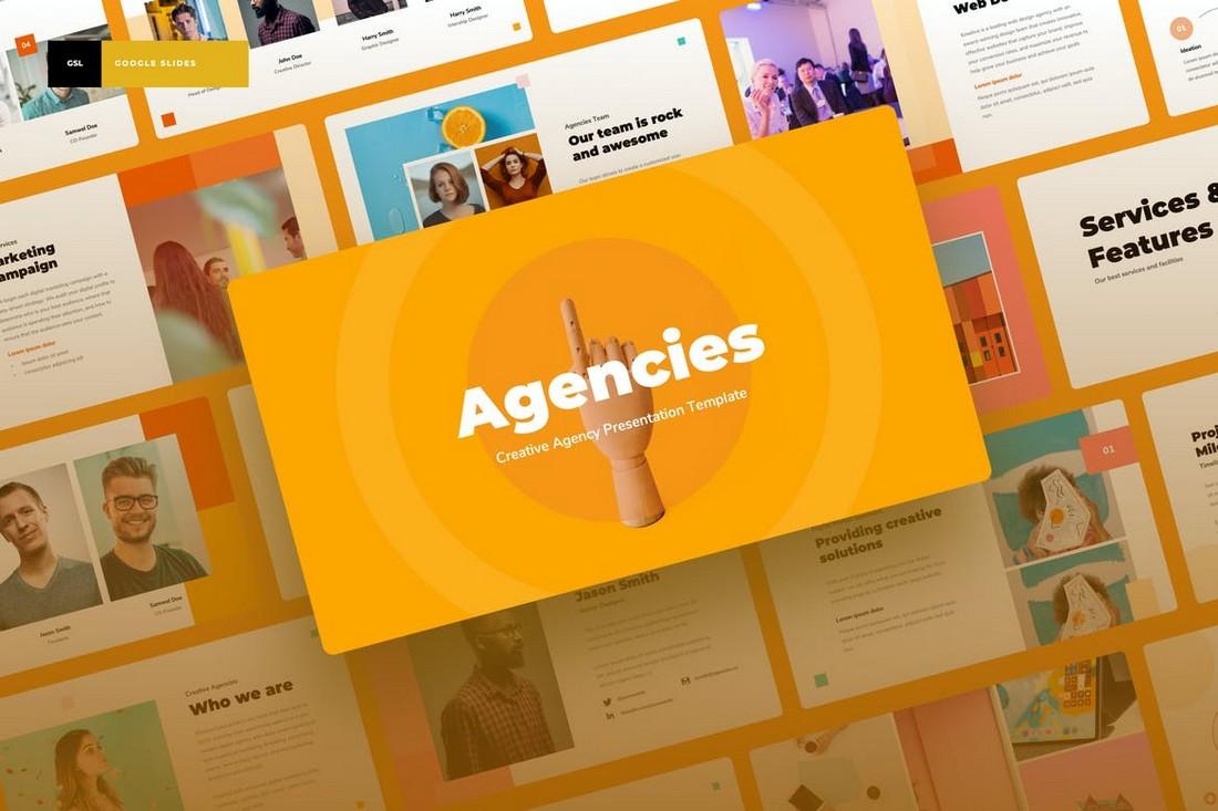 Agencies - Creative Agency Google Slides Template