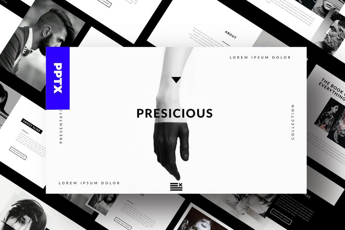 Agency-Portofolio-Cool-Powerpoint-Template 20+ Best Cool PowerPoint Templates design tips
