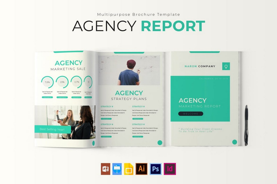 Agency Report brochure