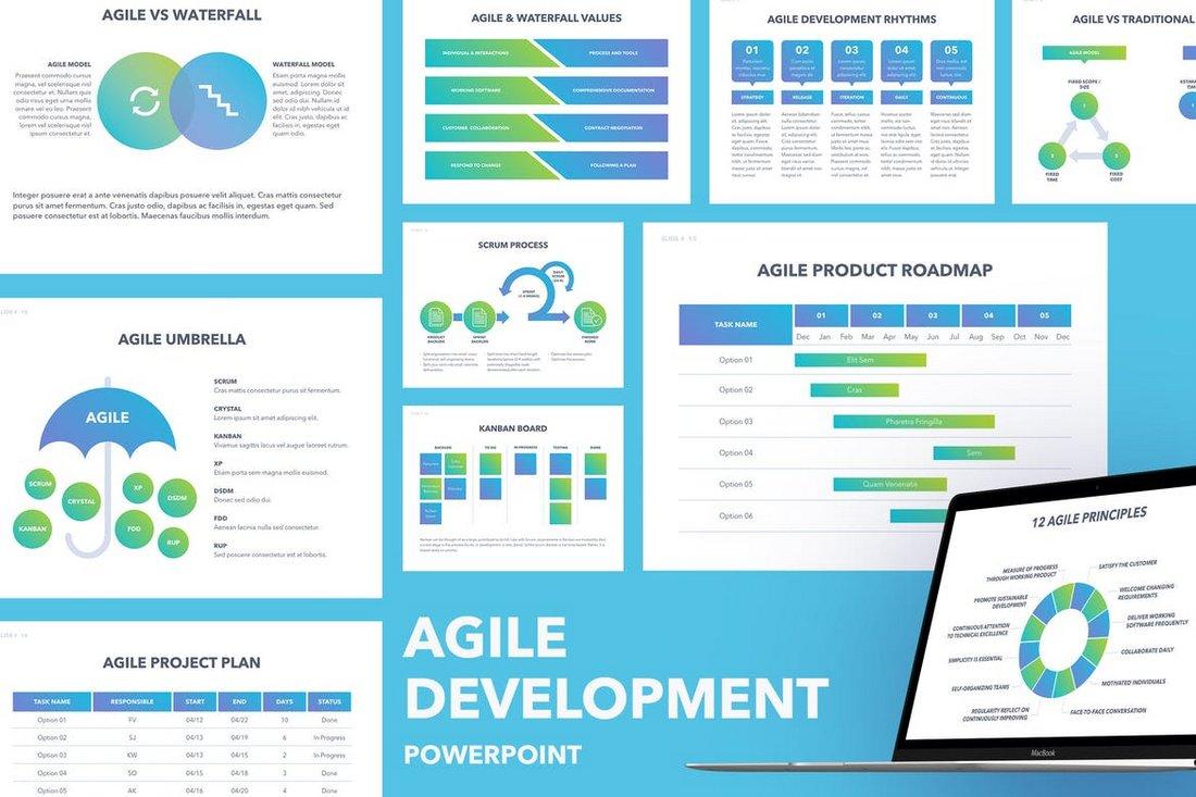 Agile Development - PowerPoint Template