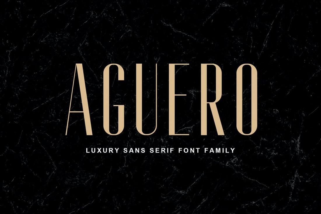 Aguero-Sans-Luxury-Sans-Serif-Font 50+ Best Condensed & Narrow Fonts of 2020 design tips