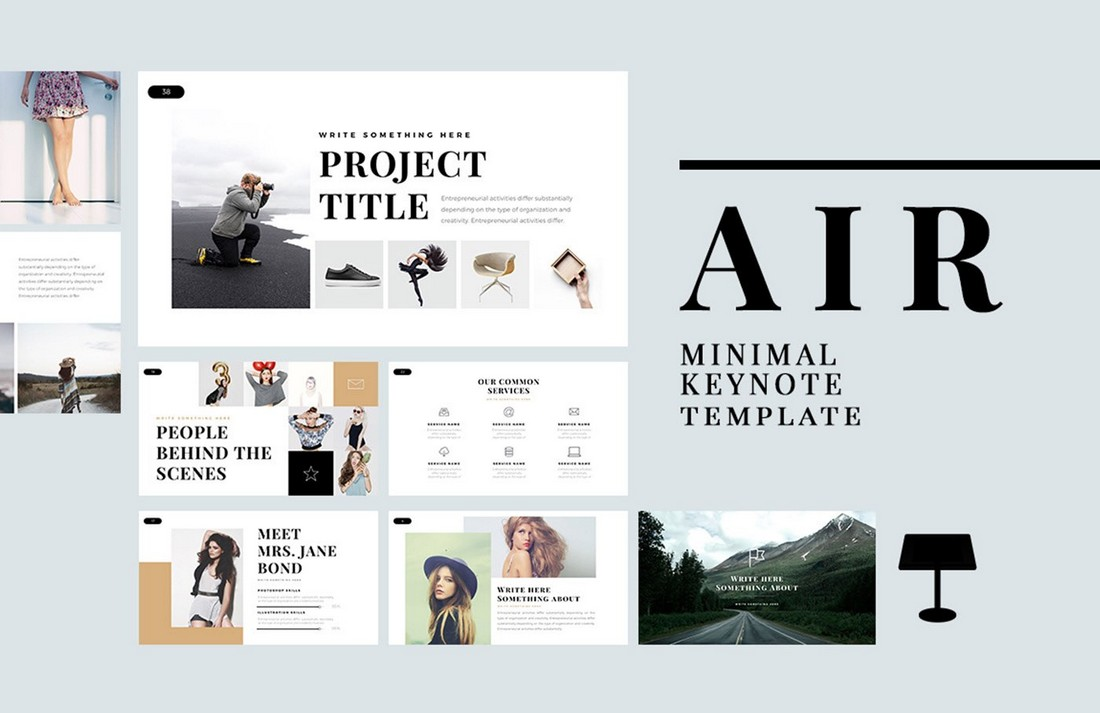 Air-Free-Minimal-Keynote-Template-2 50+ Best Keynote Templates of 2020 design tips  Inspiration|keynote|powerpoint|presentation