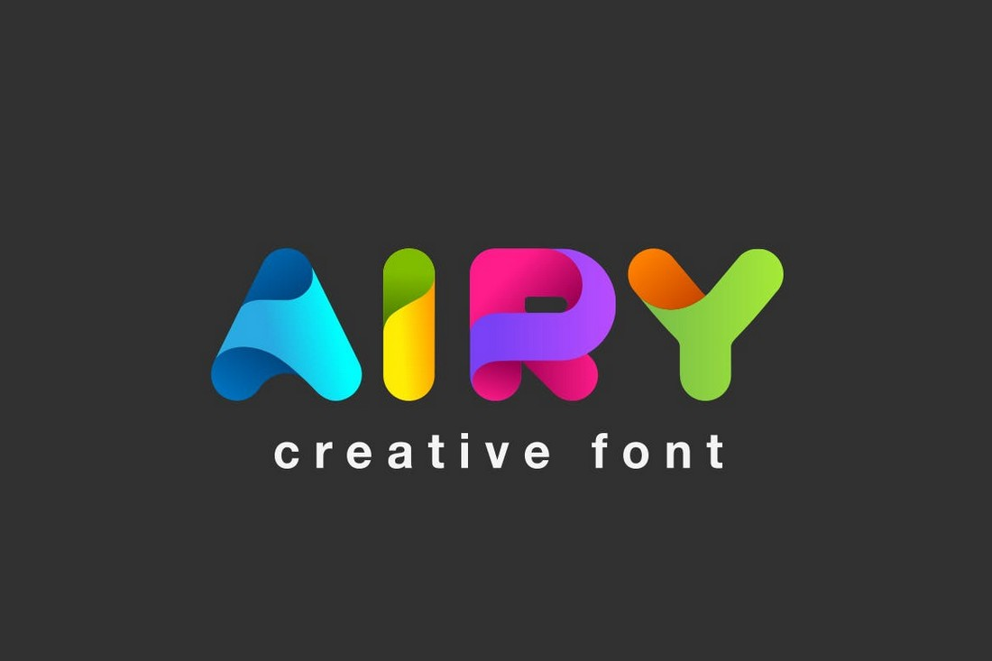 Airy - Decorative Logo Font