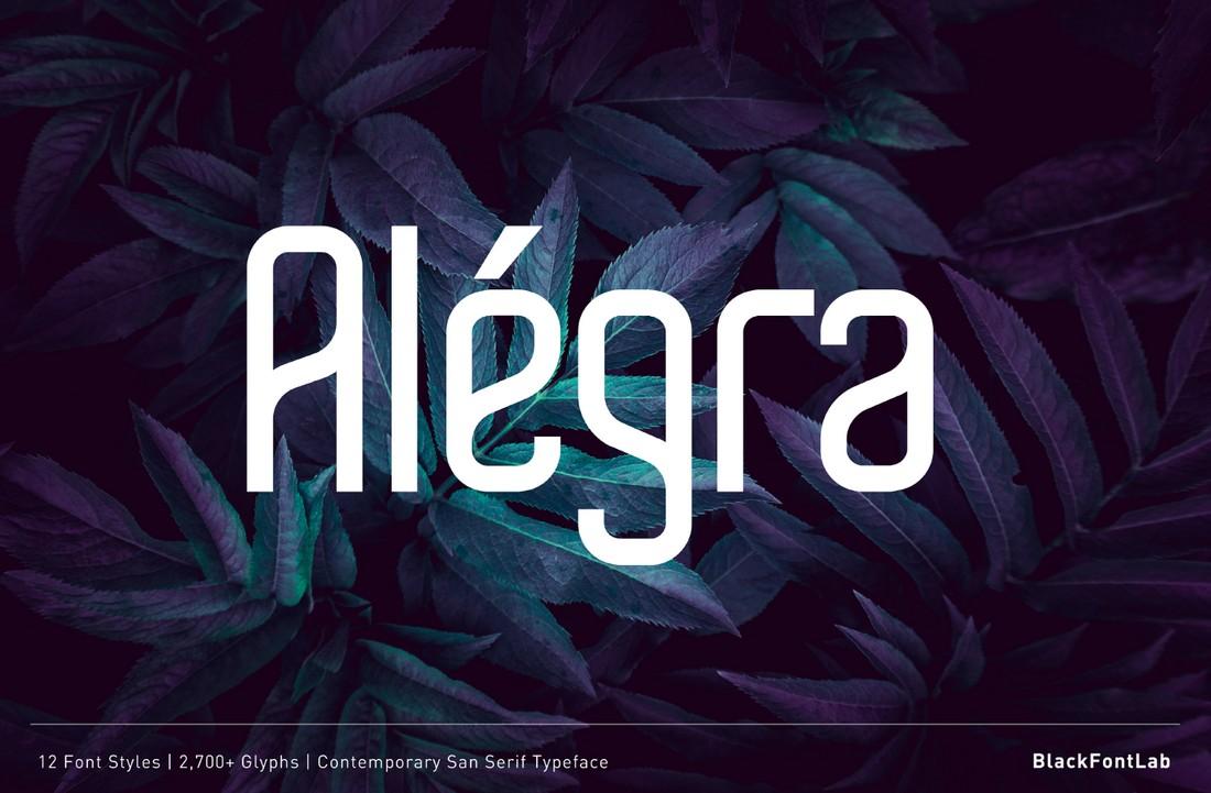 Alegra - Free Minimal Sans Font