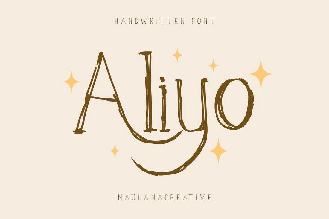 Aliyo - Hand-Drawn Font