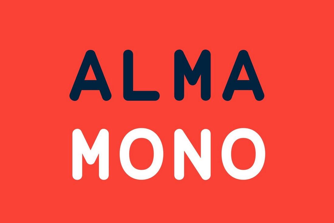 Alma-Mono 10+ Professional Monospaced Fonts for Designers design tips