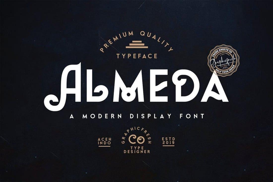 Almeda - Modern Vintage Font
