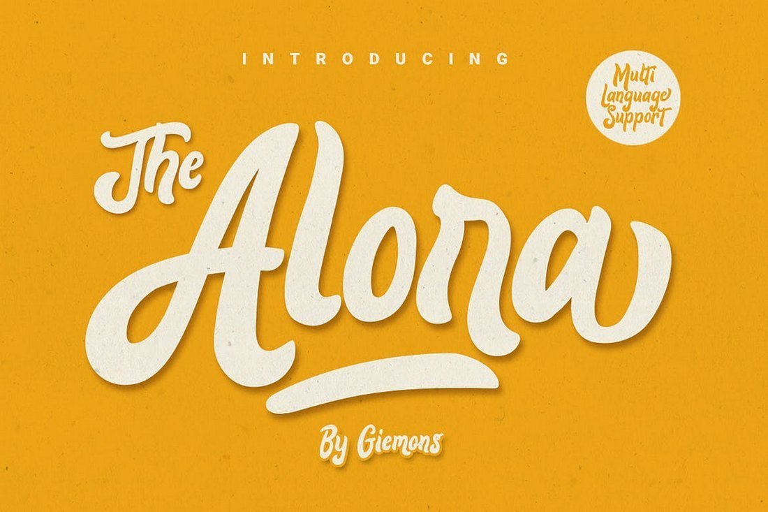 Alora-Creative-Poster-Font 30+ Best Fonts for Posters design tips