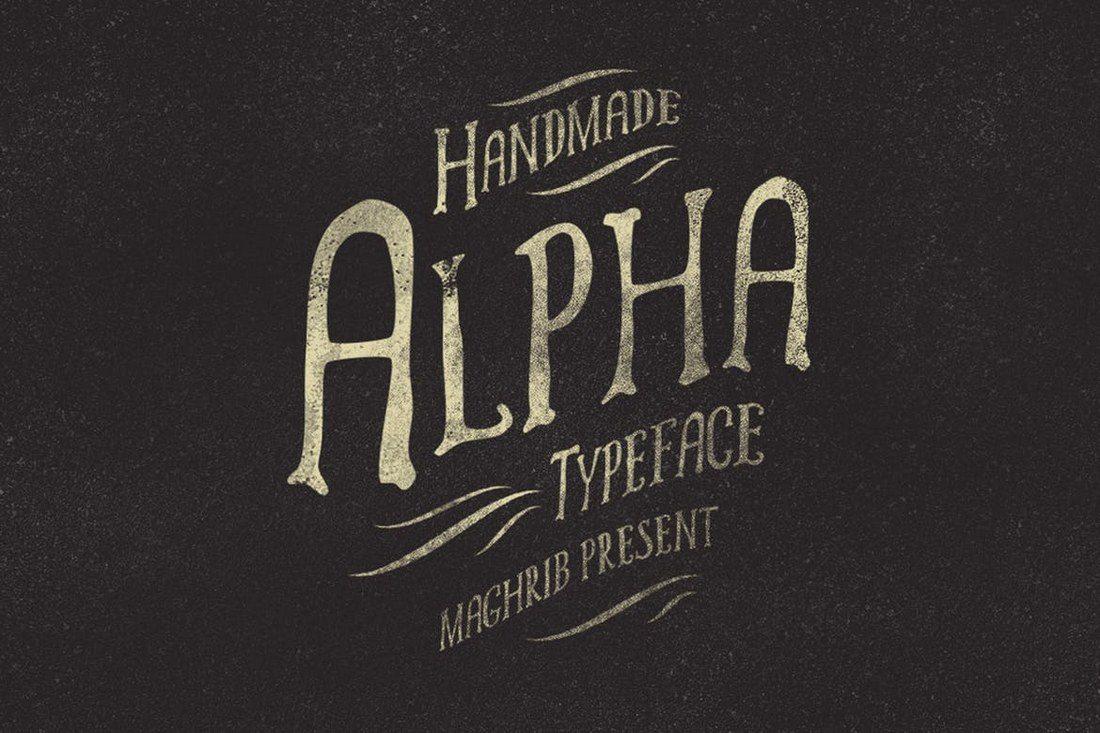 Alpha-Rough 25+ Best Monogram Fonts design tips