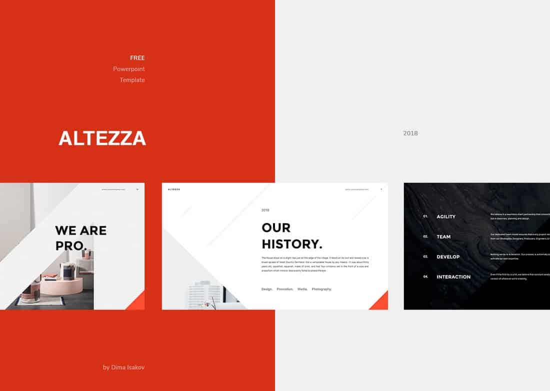 Altezza - Free Creative Keynote Template