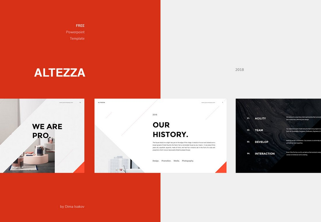 Altezza-Free-Modern-PowerPoint-Template 50+ Best PowerPoint Templates of 2020 design tips