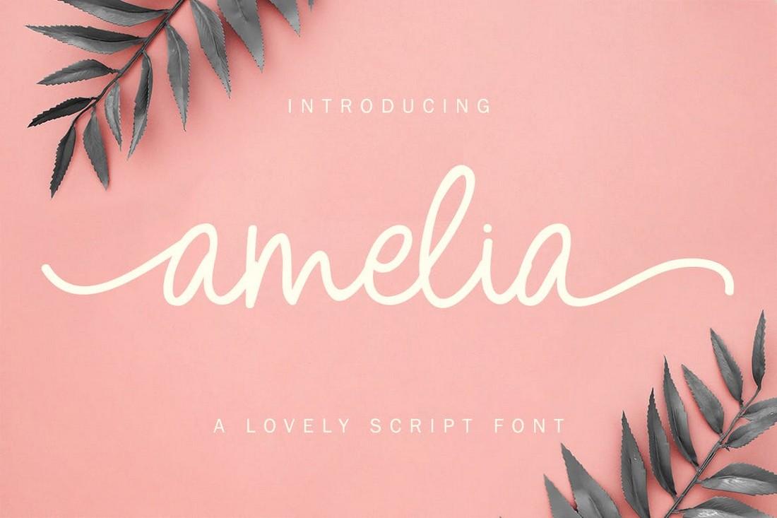 Amelia for Wedding Invitations