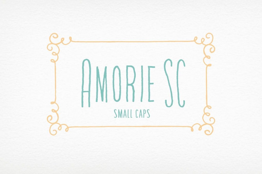 Amorie-SC-Font-Family 40+ Best Condensed & Narrow Fonts of 2019 design tips