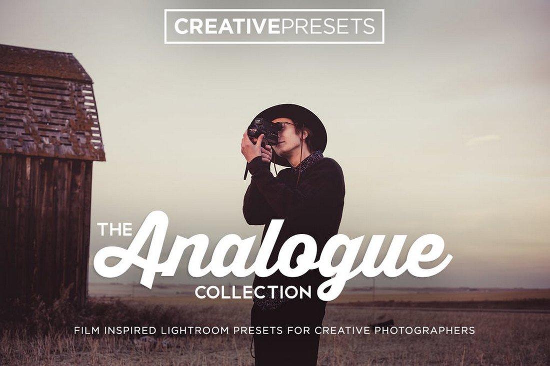 Présélection de film analogique Lightroom