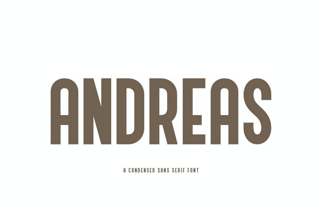 Andreas-Bold-Condensed-Poster-Font 30+ Best Fonts for Posters design tips