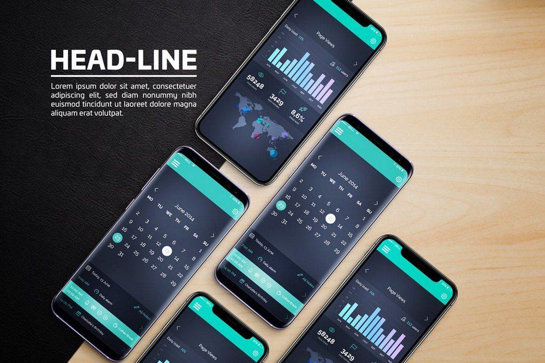 Android-iOS-Mockups 20+ Best Responsive Website & App Mockup Templates design tips