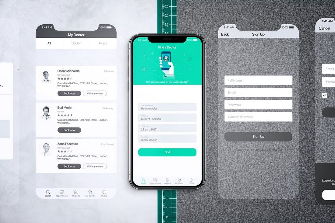 Animated-iPhone-X-MockUp-V1-PSD 30+ Best iPhone X Mockups (PSD, AI & Sketch) design tips
