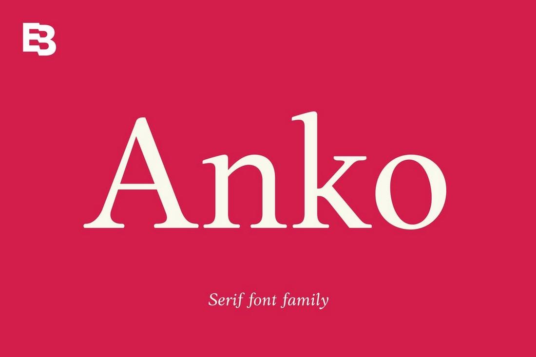 Anko - Modern Serif Font