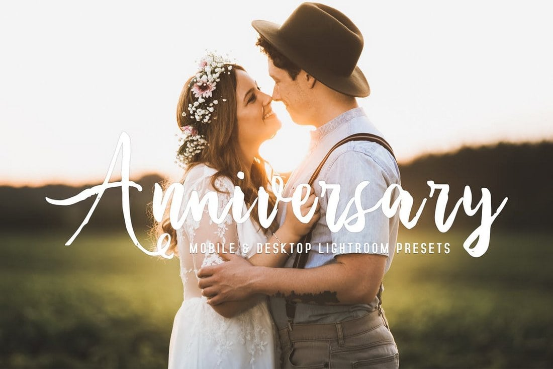 Anniversary - Mobile & Desktop Lightroom Presets