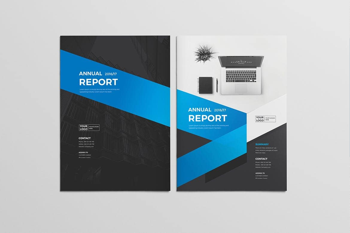 Annual-Report-2 30+ Annual Report Templates (Word & InDesign) 2020 design tips  Inspiration|annual|report|template