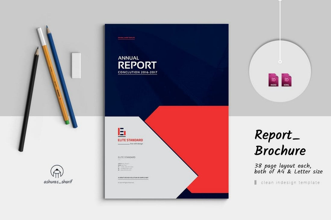 Annual-Report-Template-2018 20+ Annual Report Templates (Word & InDesign) 2018 design tips