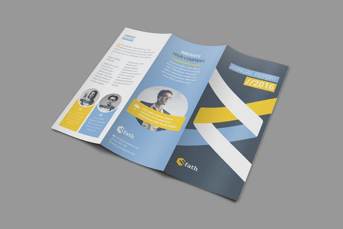 Annual Trifold Brochure
