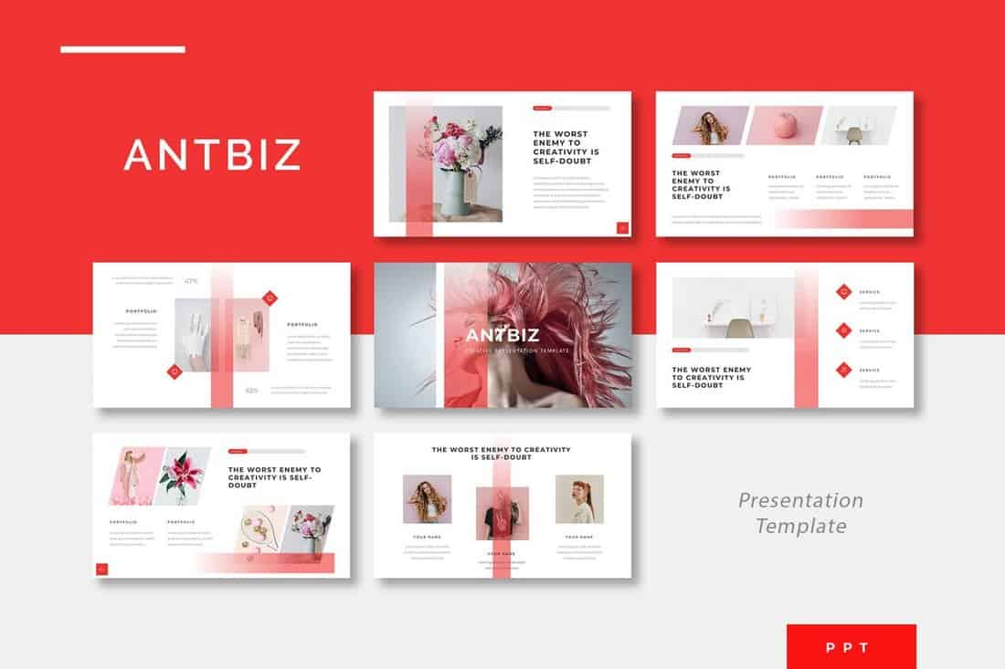 30+ Best Minimal PowerPoint Templates 2019 | Design Shack