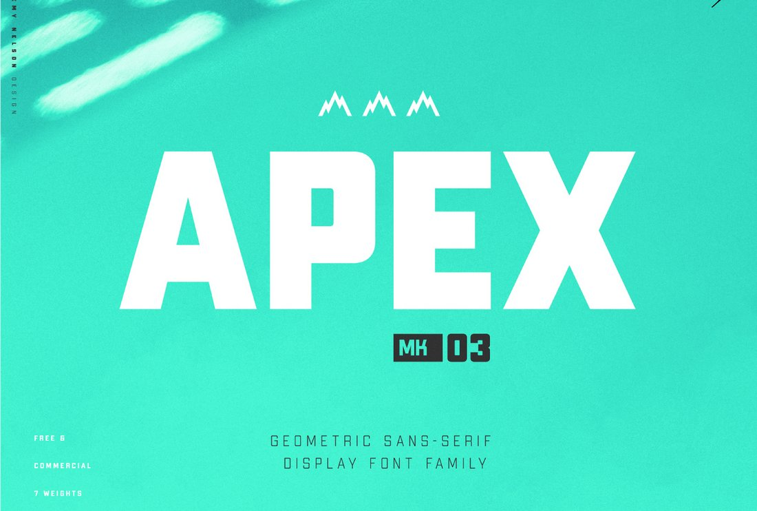 Apex - Free Bold Display Font