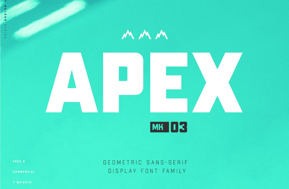 Apex-Free-Geometric-Display-Font 60+ Best Big, Poster Fonts of 2021 design tips