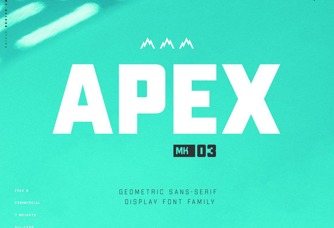 Apex MK3 - Free Display Font