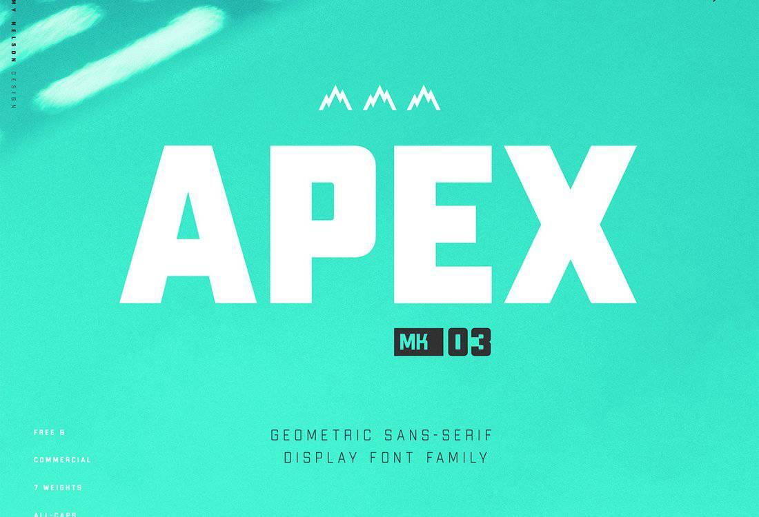 Apex-MK3-Free-Display-Font 60+ Best Free Fonts for Designers 2020 (Serif, Script & Sans Serif) design tips