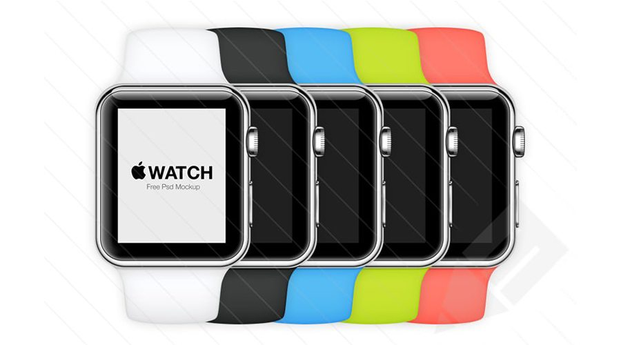 Apple-Watch-–-Free-Psd-Mockup