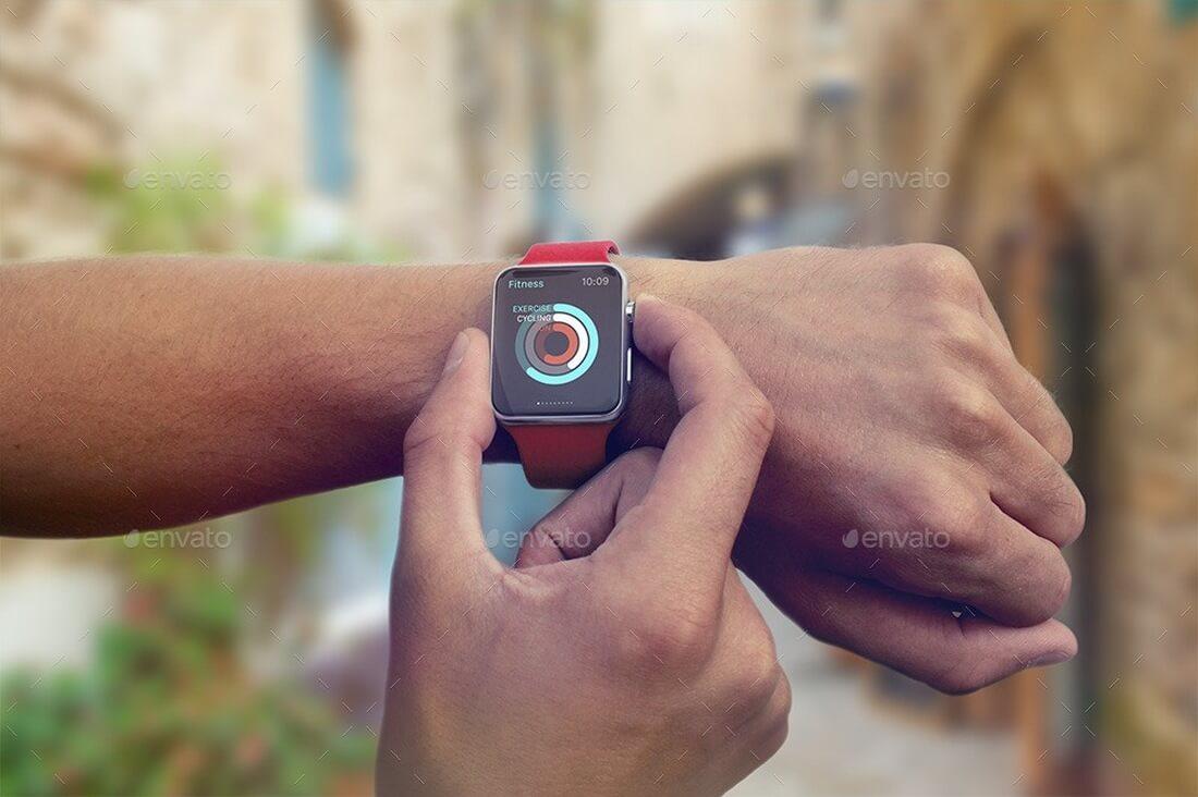 Apple-Watch-Mockup-graphicriver 50+ Apple Watch Mockups & Graphics design tips