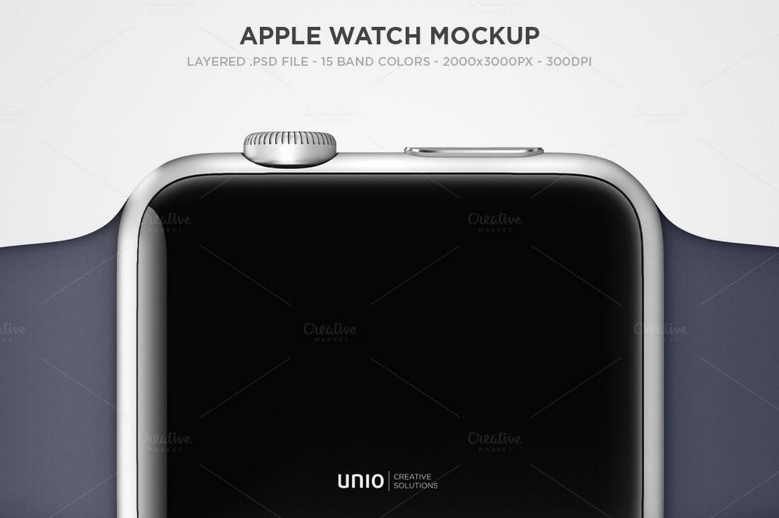 Apple-Watch-Mockup 50+ Apple Watch Mockups & Graphics design tips