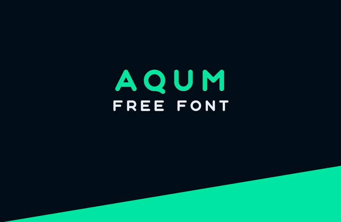 Aqum - Creative Free Title Font