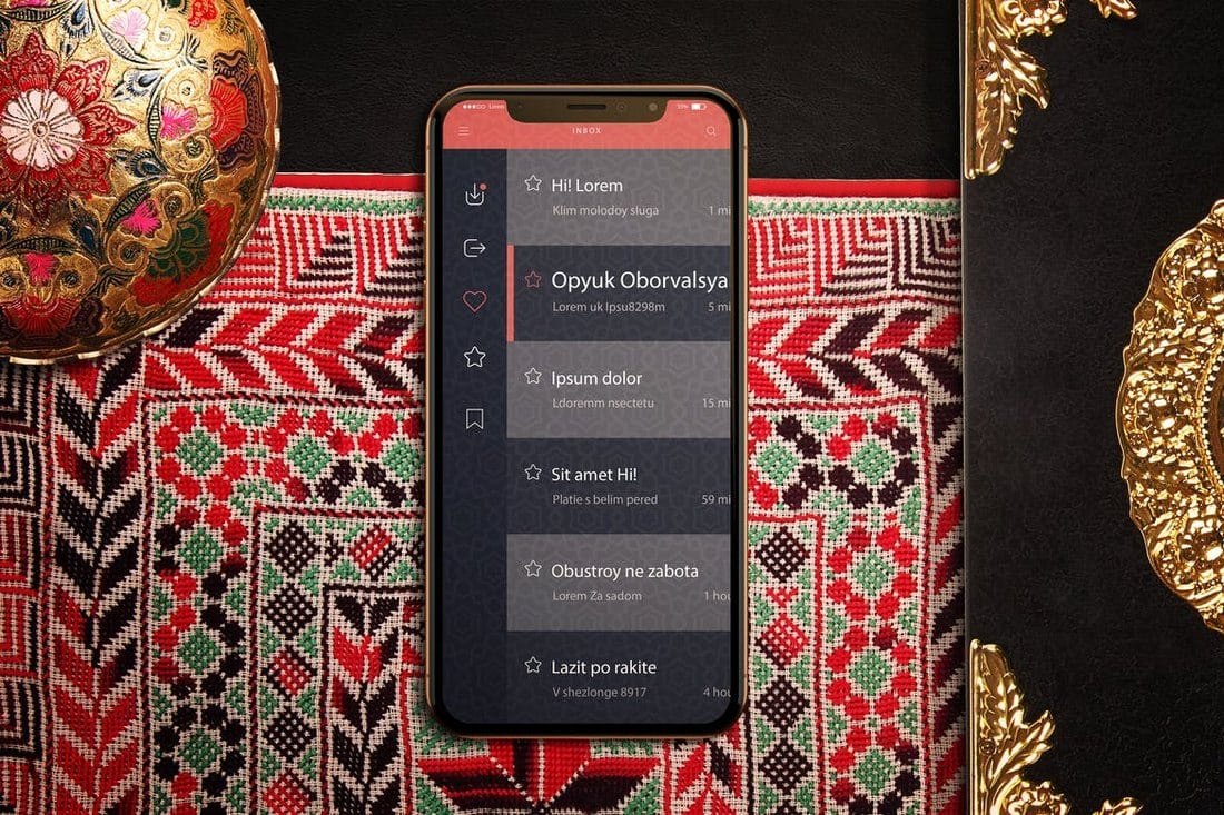 Arabic-iPhone-X-Mockup 30+ Best iPhone X Mockups (PSD, AI & Sketch) design tips