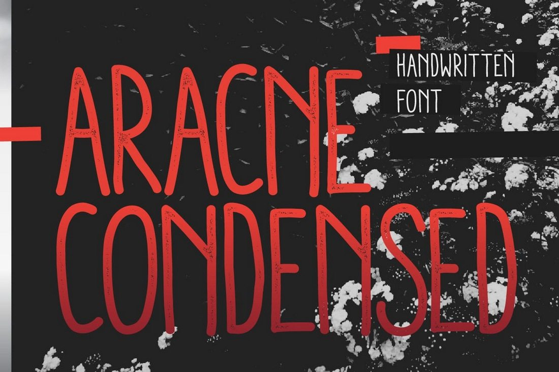 Aracne-Condensed 50+ Best Condensed & Narrow Fonts of 2020 design tips