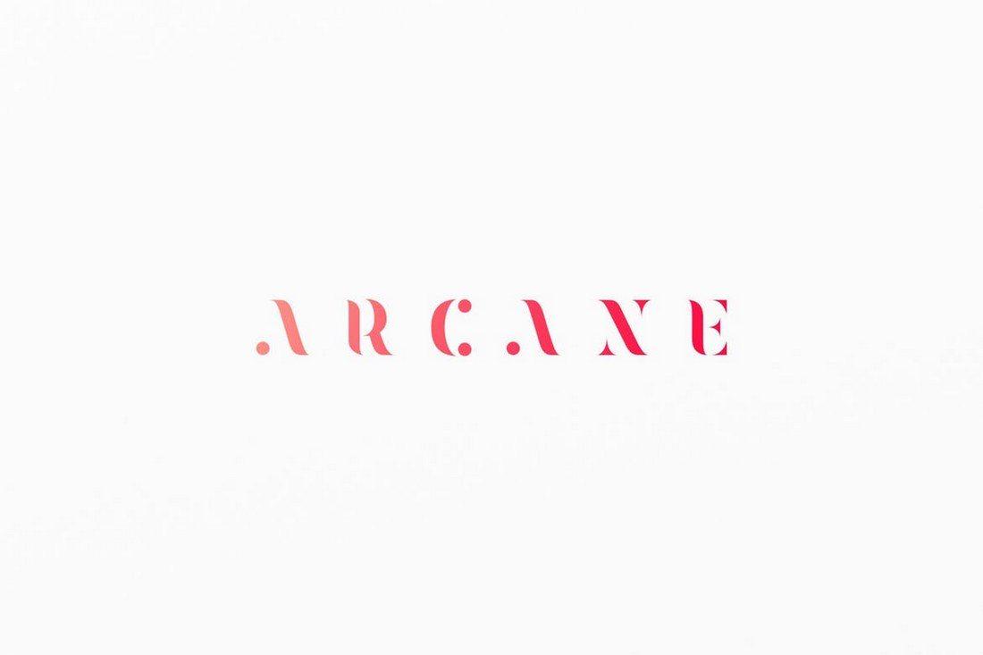 Arcane 30+ Best Modern & Futuristic Fonts 2021 design tips