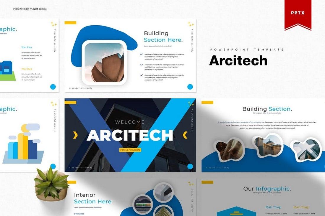 Arcitech - Creative Powerpoint Template