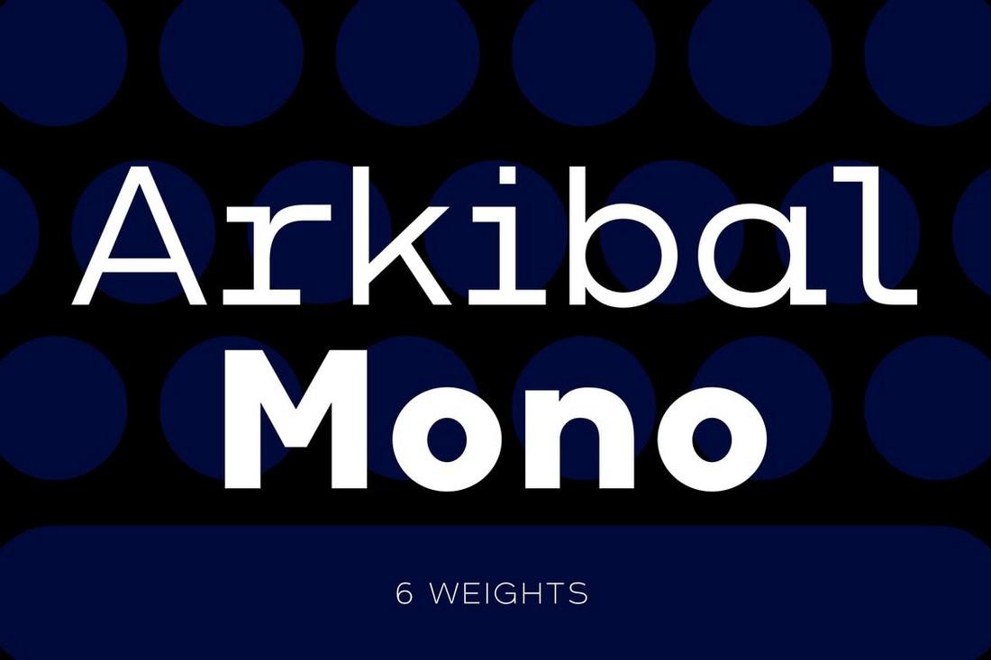 Arkibal-Mono 10+ Professional Monospaced Fonts for Designers design tips