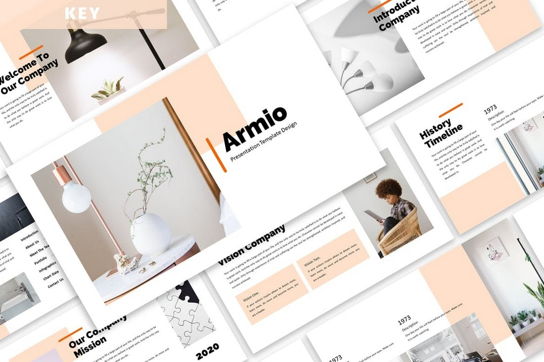 Armio - Modern Business Keynote Template