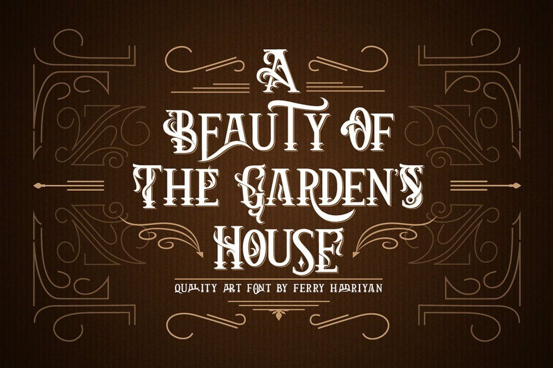 Arthouse-Display-Font 35+ Best Blackletter Fonts design tips