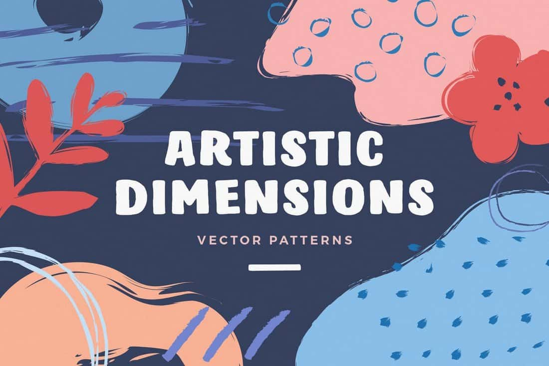 Artistic-Dimension-Abstract-Patterns 50+ Best Free Photoshop Patterns 2021 design tips