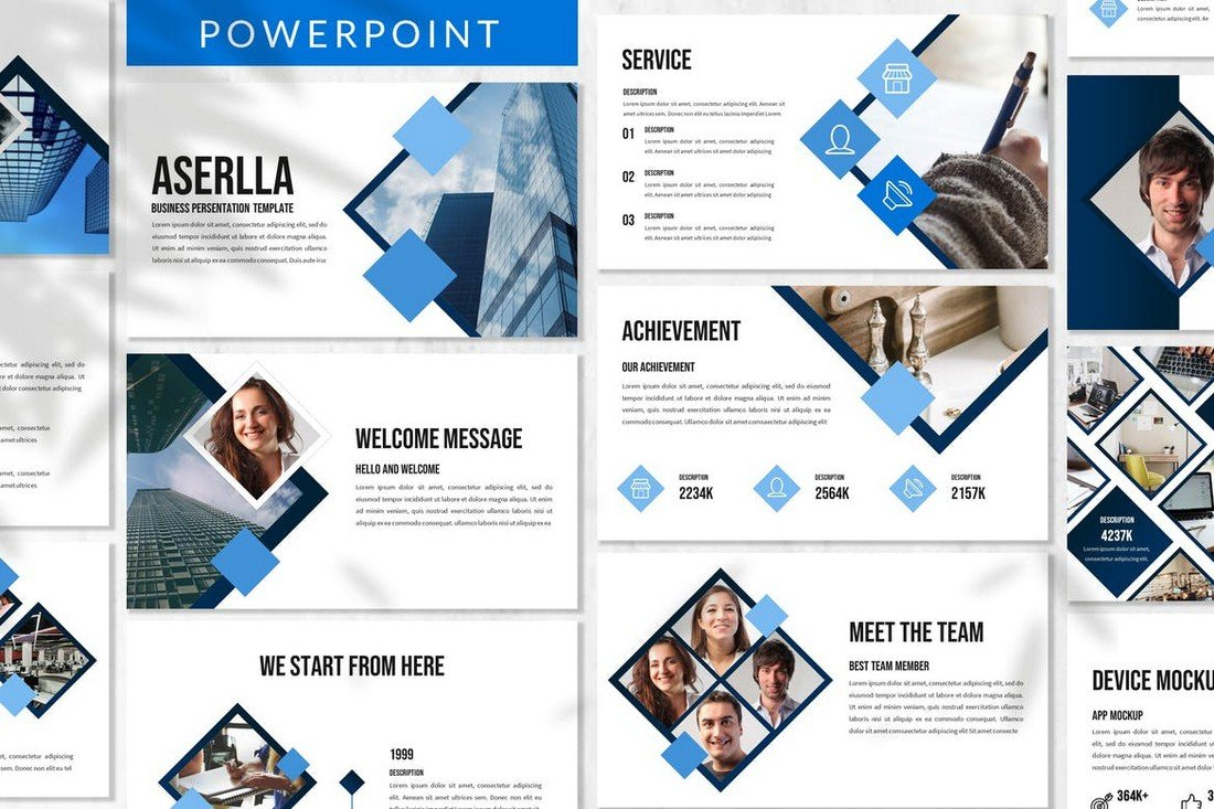 Aserlla - Clean Business Powerpoint Template