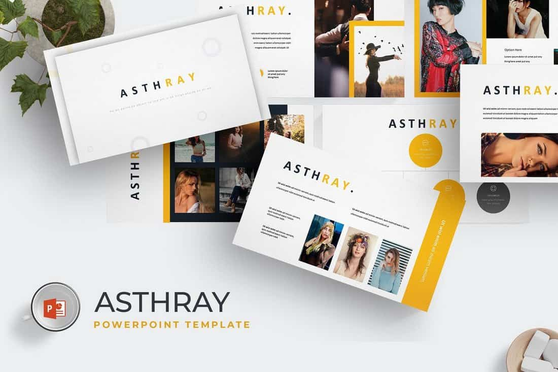 Ashtray - Professional Powerpoint Template